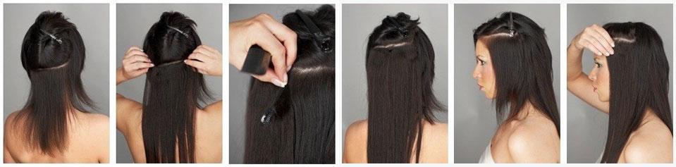Как нарастить себе самой волосы