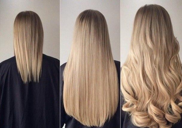 Нарощенные волосы в повседневной жизни